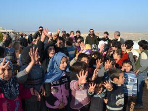 Amasya'dan Yola Çıkan 5 Tır Yardım Suriye'ye Ulaştı