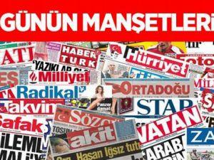 Gazete Manşetleri - 6 Mart 2015