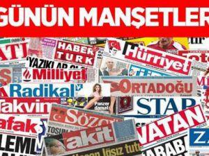 Gazete Manşetleri - 10 Mart Salı 2015