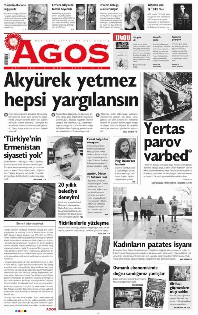 Bugünün Gazete Manşetleri - 12 Mart 2015 1