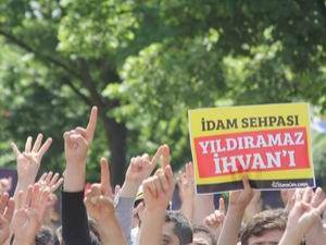 İstanbul'da İhvan Liderlerine Destek Yürüyüşü