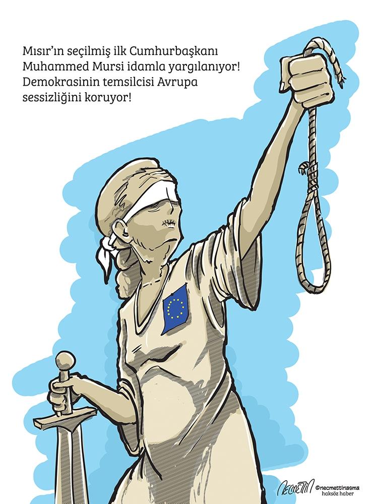 Batı Mursi'nin idamına sessiz / Necmettin Asma galerisi resim 1