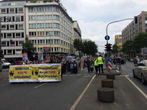 Almanya'da Katil Sisi'ye Lanet, İhvan'a Destek Yürüyüşü