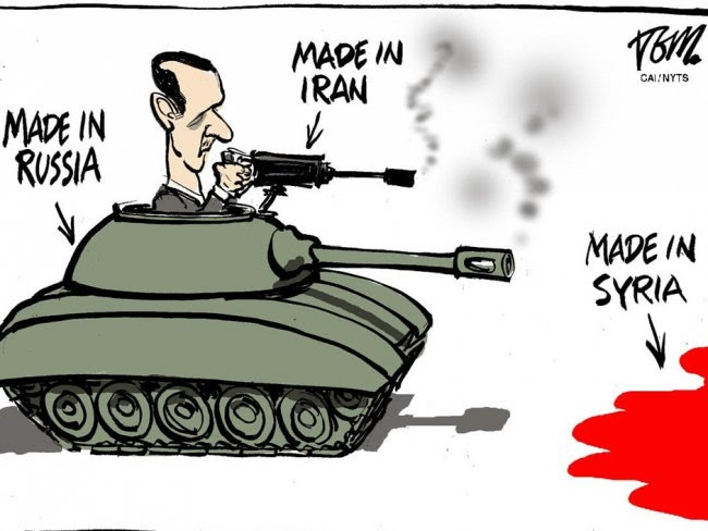 İşgalci İran ve Rusya, Suriye'den Defol! 1