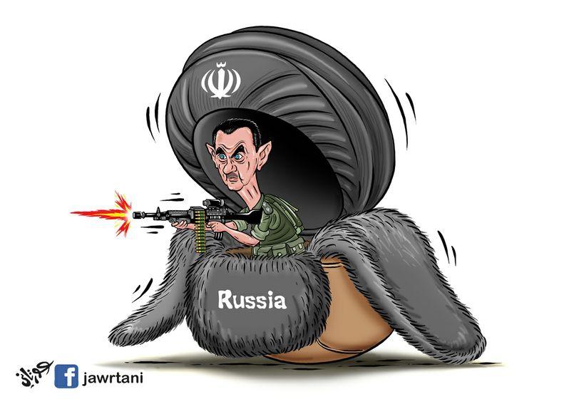 Rusya, İran ve Esed 1