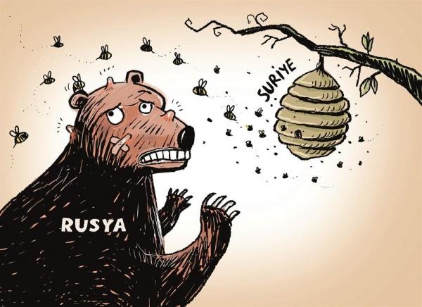 Rus Ayısı Suriye'de 1
