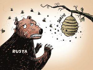 Rus Ayısı Suriye'de