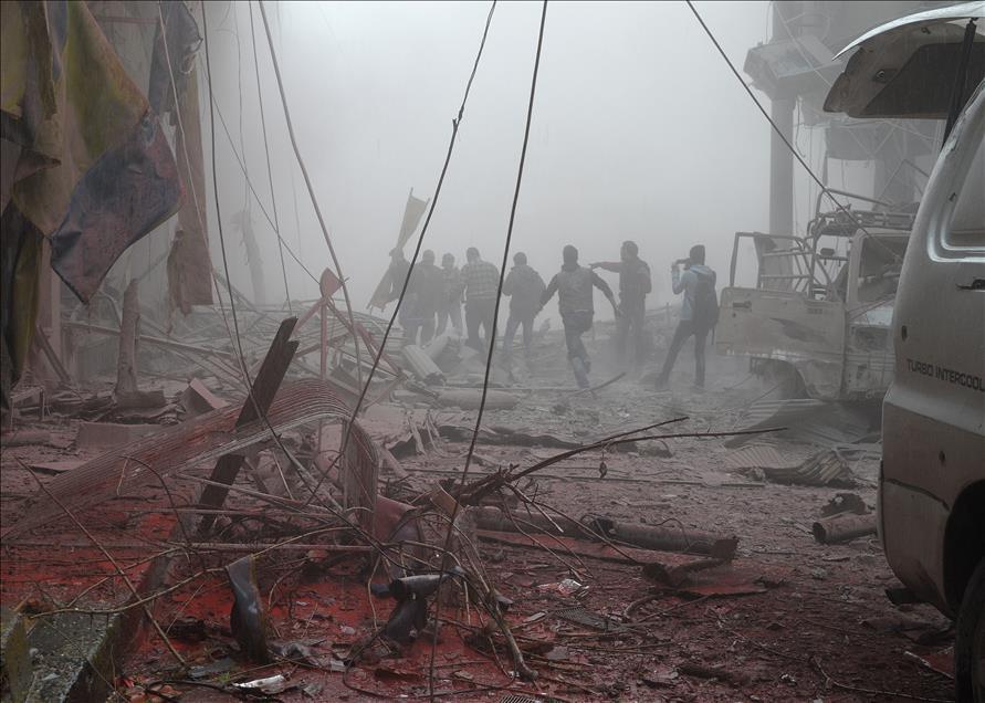 Rus Jetleri, Şam'ı Bombaladı: 50 Ölü, 200 Yaralı 1