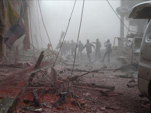 Rus Jetleri, Şam'ı Bombaladı: 50 Ölü, 200 Yaralı