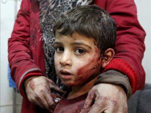 Rus Jetleri Şam'da Yerleşim Yerini Bombaladı