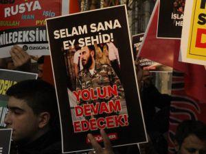 Zahran Alluş'un Şehadeti Saraçhane'de Selamlandı!