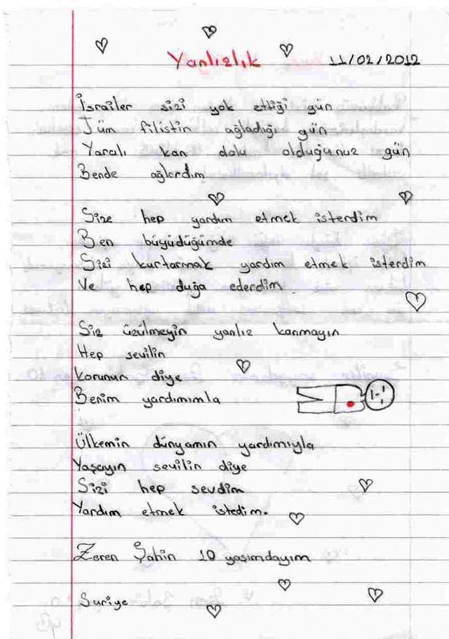 Sivaslı Çocuklardan Suriyeli Kardeşlerine Mektup! 16