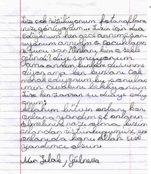 Sivaslı Çocuklardan Suriyeli Kardeşlerine Mektup! 9