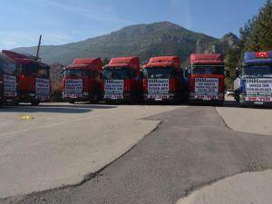 Amasya'dan Mazlum Suriye Halkına Kış Desteği