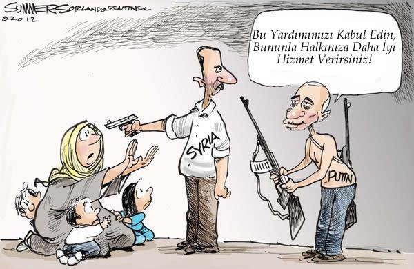 Putin, Esed'e Yardım Ediyor 1