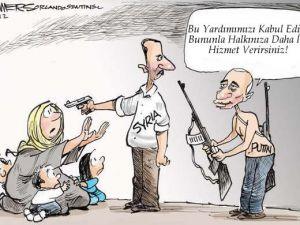 Putin, Esed'e Yardım Ediyor