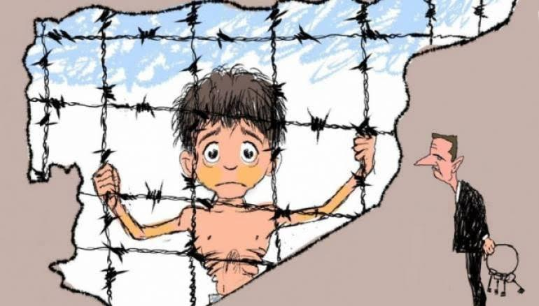 Madaya Çocukları Açlıktan Ölüyor 1