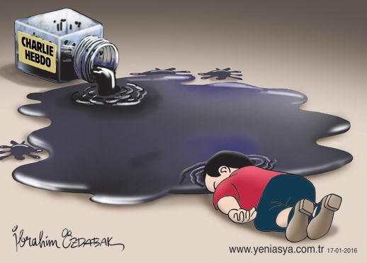 Aylan Bebek ve Charlie Hebdo 1