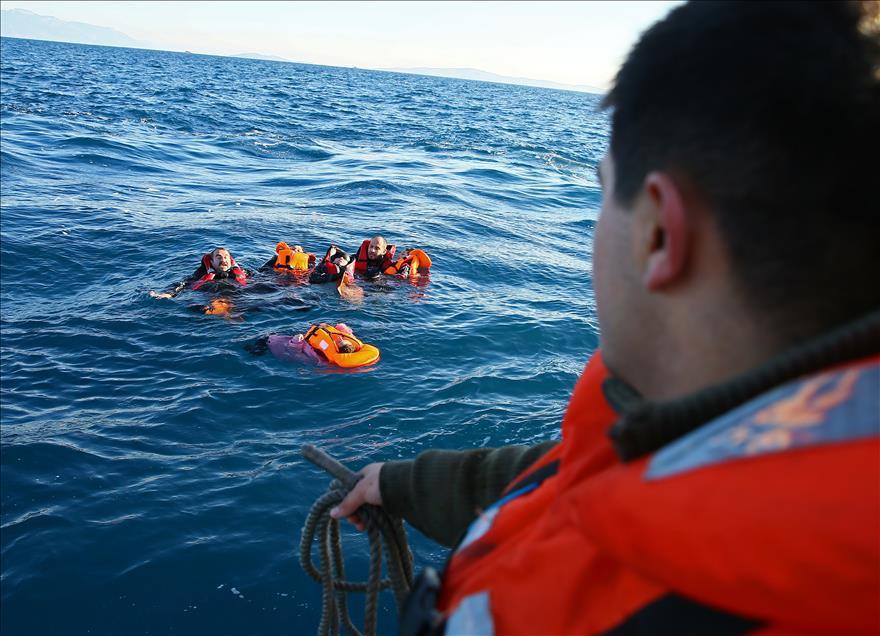 Mültecilerin Denizde Can Pazarı 1