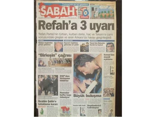 28 Şubat'ta Darbeci Medyanın Manşetleri 1
