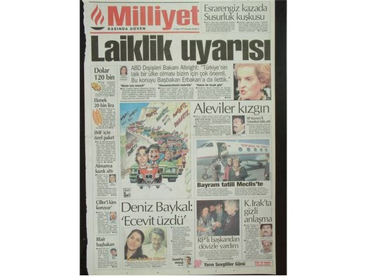 28 Şubat'ta Darbeci Medyanın Manşetleri 10