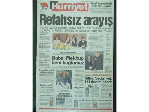 28 Şubat'ta Darbeci Medyanın Manşetleri 11