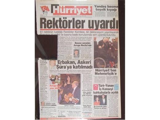 28 Şubat'ta Darbeci Medyanın Manşetleri 12