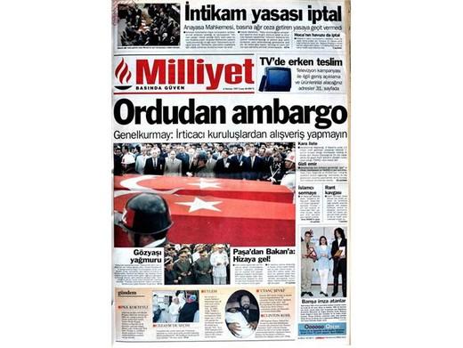 28 Şubat'ta Darbeci Medyanın Manşetleri 13