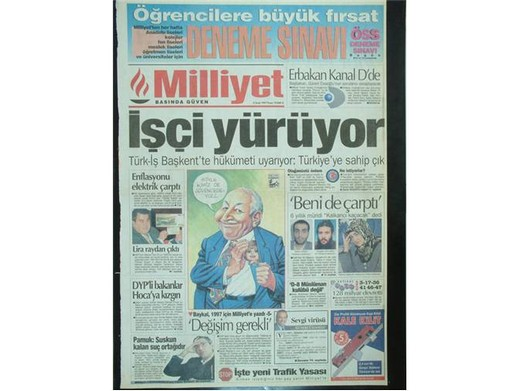 28 Şubat'ta Darbeci Medyanın Manşetleri 14