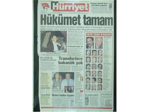 28 Şubat'ta Darbeci Medyanın Manşetleri 16