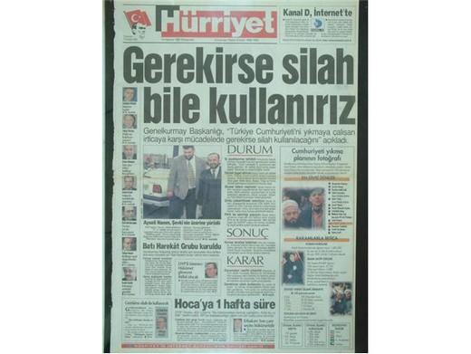 28 Şubat'ta Darbeci Medyanın Manşetleri 17