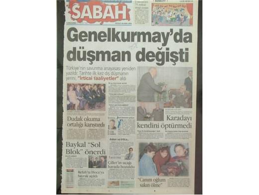 28 Şubat'ta Darbeci Medyanın Manşetleri 19