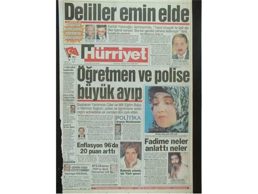 28 Şubat'ta Darbeci Medyanın Manşetleri 20