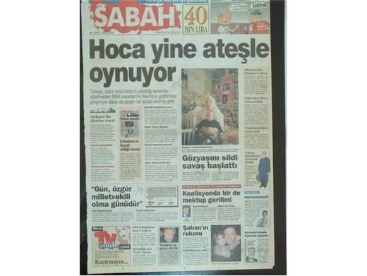 28 Şubat'ta Darbeci Medyanın Manşetleri 23
