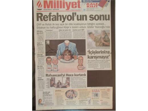 28 Şubat'ta Darbeci Medyanın Manşetleri 24