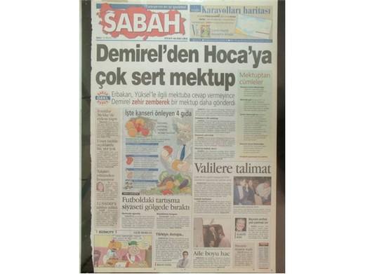 28 Şubat'ta Darbeci Medyanın Manşetleri 25