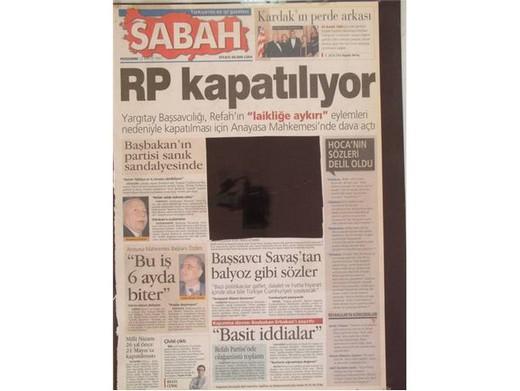 28 Şubat'ta Darbeci Medyanın Manşetleri 26
