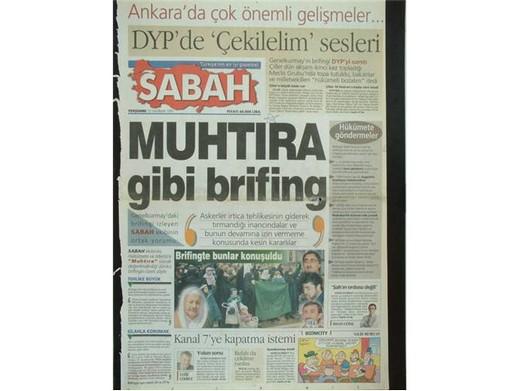 28 Şubat'ta Darbeci Medyanın Manşetleri 3