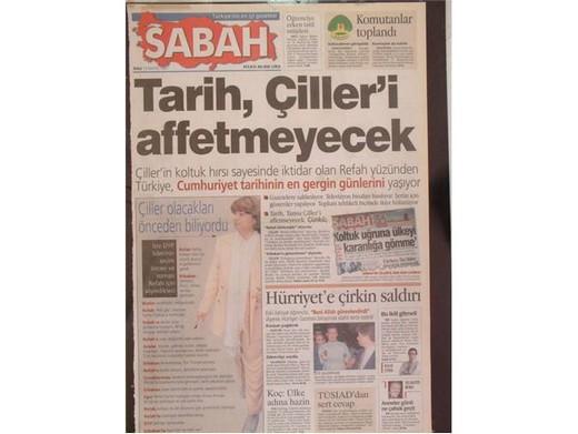 28 Şubat'ta Darbeci Medyanın Manşetleri 31