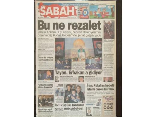 28 Şubat'ta Darbeci Medyanın Manşetleri 32