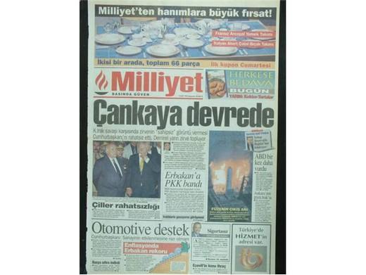 28 Şubat'ta Darbeci Medyanın Manşetleri 33