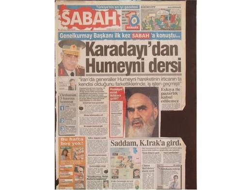 28 Şubat'ta Darbeci Medyanın Manşetleri 35