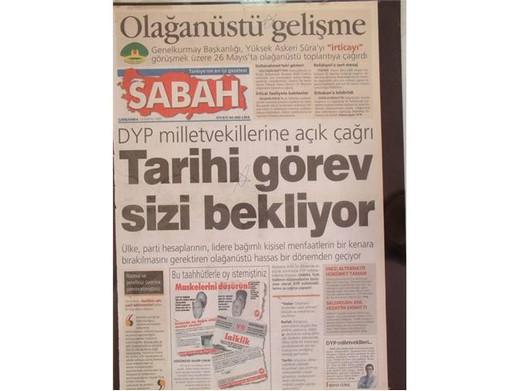 28 Şubat'ta Darbeci Medyanın Manşetleri 37