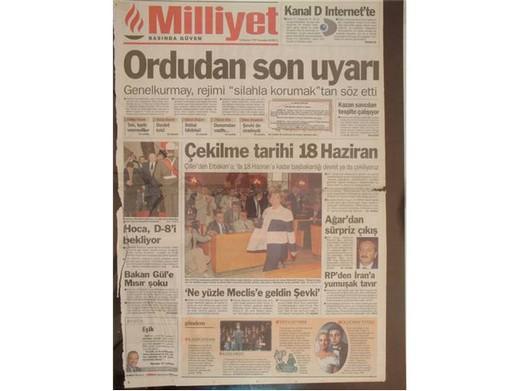 28 Şubat'ta Darbeci Medyanın Manşetleri 38