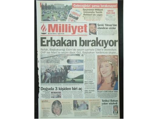 28 Şubat'ta Darbeci Medyanın Manşetleri 39