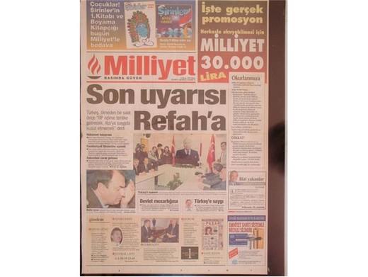 28 Şubat'ta Darbeci Medyanın Manşetleri 41