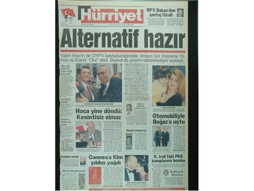 28 Şubat'ta Darbeci Medyanın Manşetleri 8