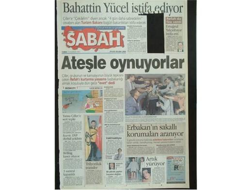 28 Şubat'ta Darbeci Medyanın Manşetleri 9