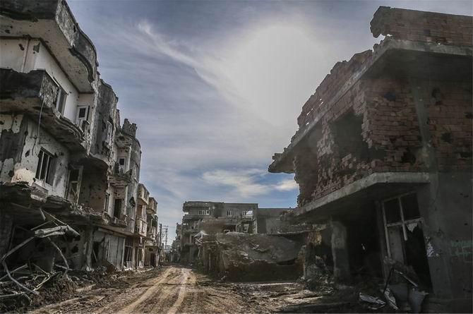 PKK/HDP'nin Hendek Siyaseti Cizre'yi Bu Hale Getirdi 1