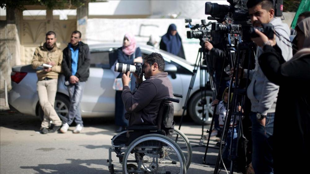 İsrail'in 'Engelli Bıraktığı' Filistinli Gazetecinin Azmi 1